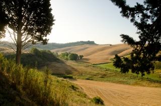 Landskab nedn for Chianni